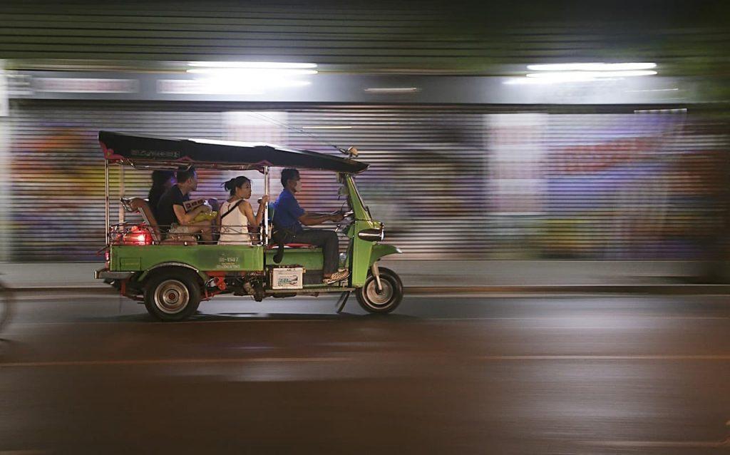 se déplacer en thailande